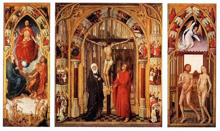 Triptych of the redemption, 1455 - 1459 - Rogier van der Weyden
