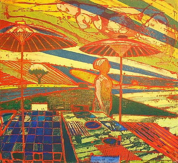 Summer's Figure, 1965 - Roland Petersen