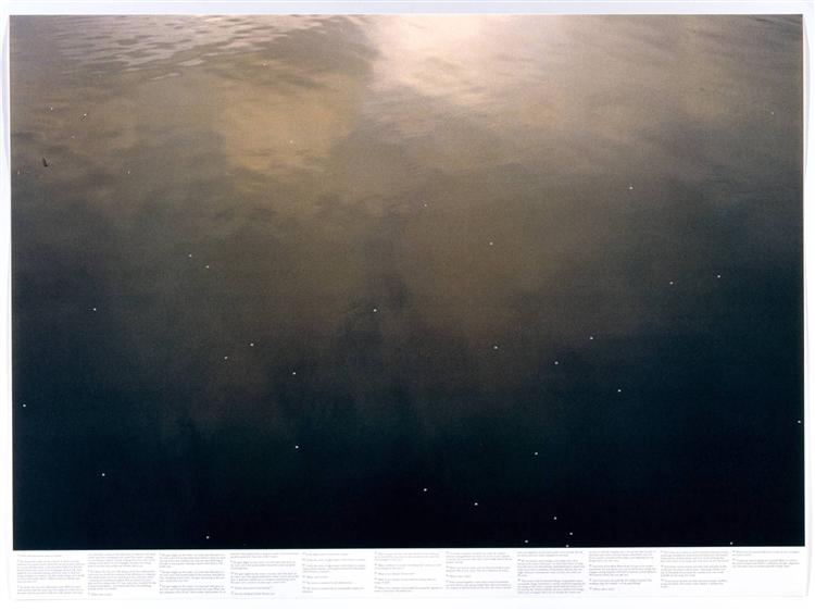 Untitled (from the series Still Water (The River Thames, for Example)) - Roni Horn
