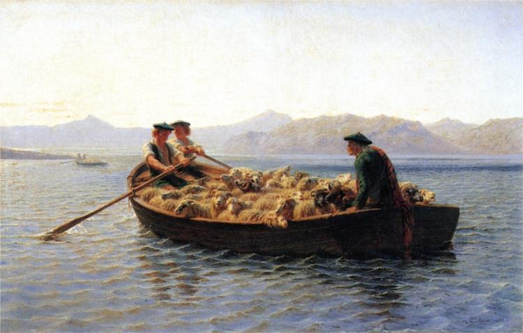 Changing Pastures, 1863 - Rosa Bonheur
