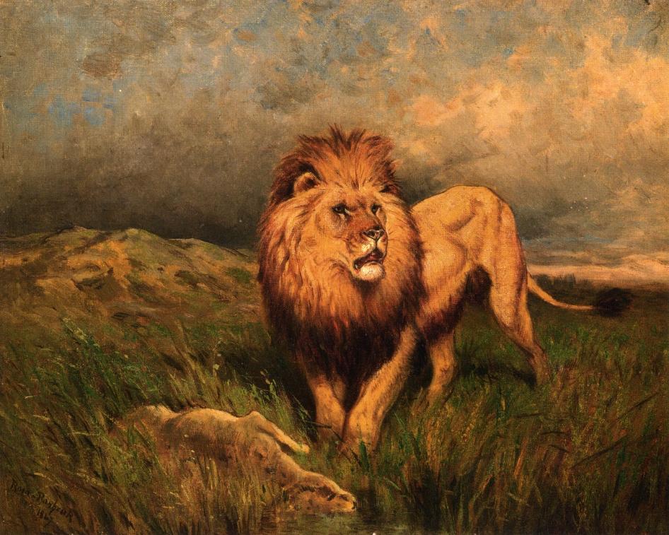 Rosa Bonheur artworks Rosa Bonheur's lions