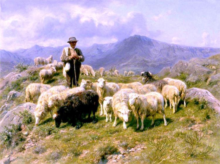 Shepherd of the Pyrenees, 1888 - Rosa Bonheur