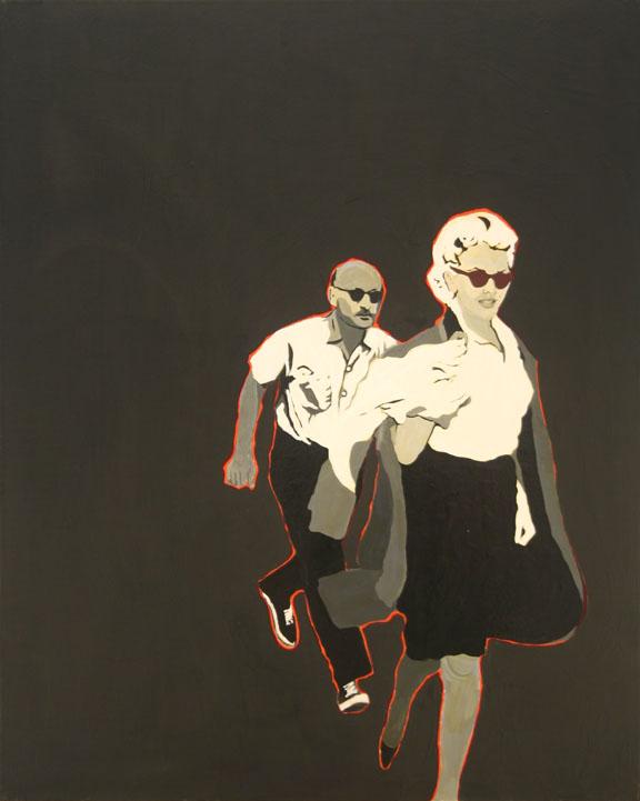 Marilyn Pursued By Death - Rosalyn Drexler - WikiArt.org ...