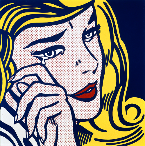 Crying girl - Lichtenstein Roy