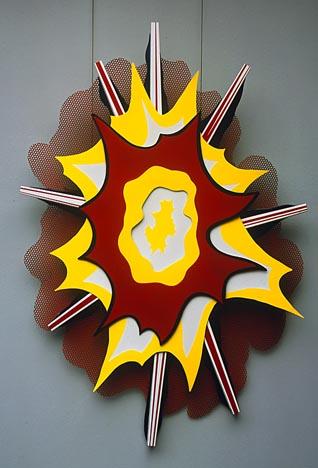 Explosion I, 1965 - Roy Lichtenstein