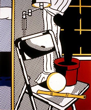 Interior with cactus, 1978 - Roy Lichtenstein