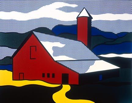Red barn II, 1969 - Roy Lichtenstein