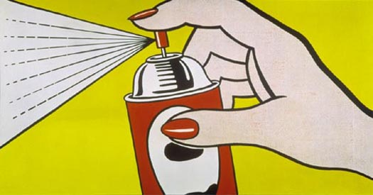 Spray, 1962 - Roy Lichtenstein