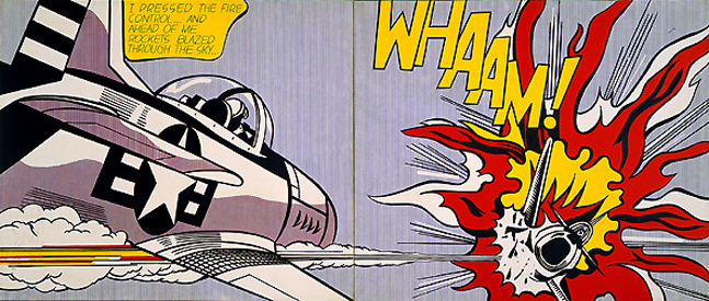 Whaam!, 1963 - Roy Lichtenstein