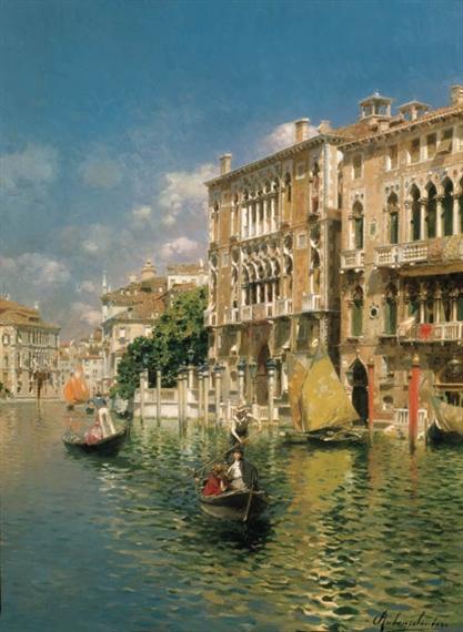A gondola ride, Venice - Rubens Santoro