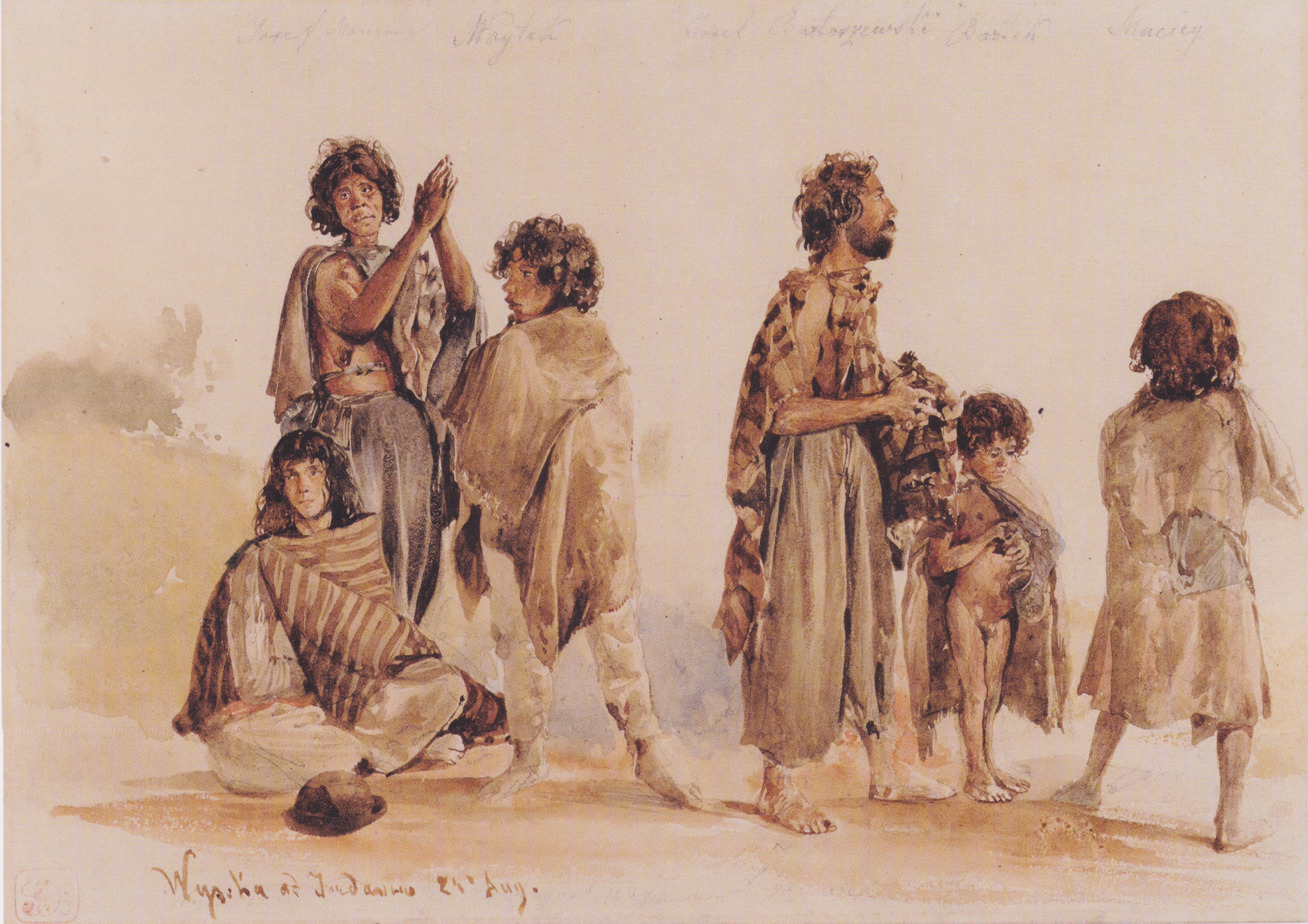 Galician gypsies, 1839