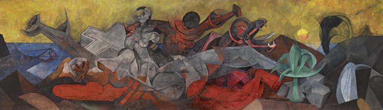 America, 1955 - Rufino Tamayo