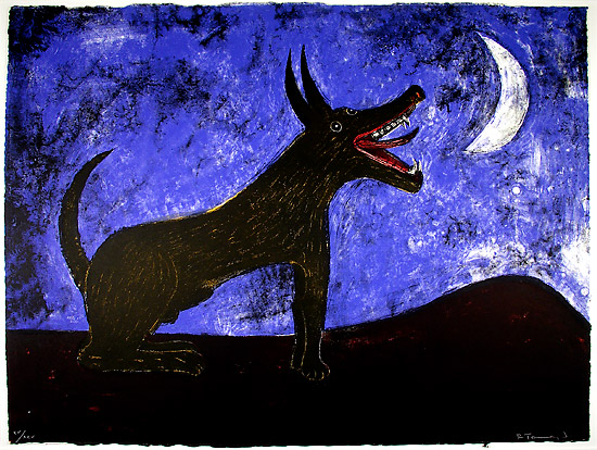 Moon Dog, 1973 - Rufino Tamayo