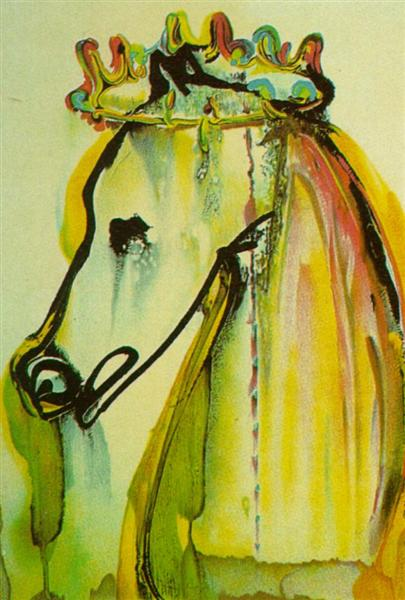 Caligula's Horse (Dali's Horses), 1971 - Salvador Dali