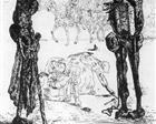 Illustration to the 'Songs of Maldoror' Isidore Ducasse, Count Lautréamont - Salvador Dali