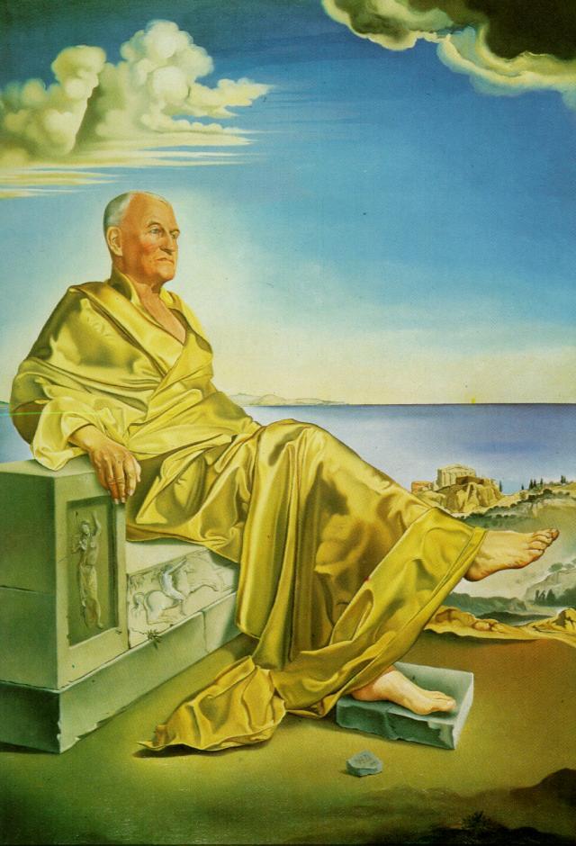 La Turbie' - Sir James Dunn Seated, 1949