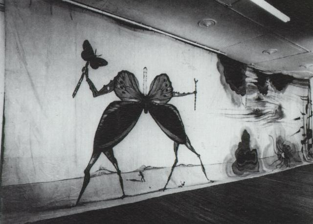 March of Time Comittee - Papillon, c.1940 - Salvador Dali ...