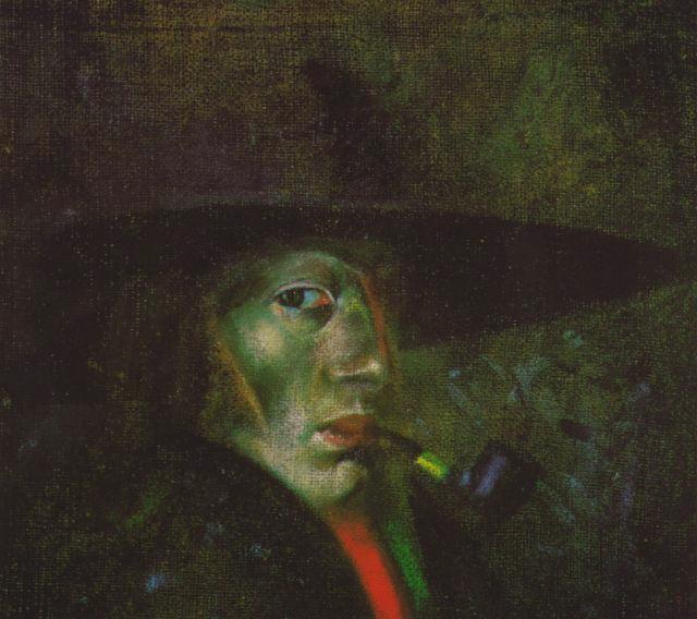 Self-portrait (Figueres), 1921 - Salvador Dali