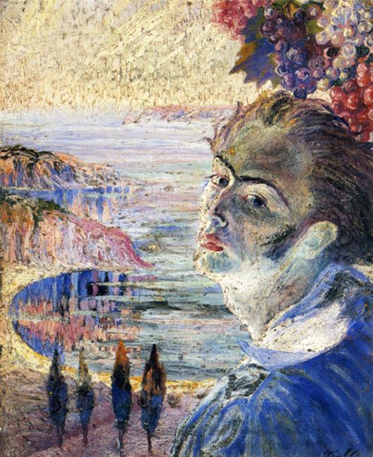 Self Portrait, c.1921 - Salvador Dali - WikiArt.org