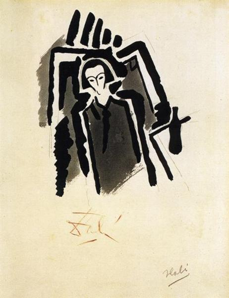 Self-Potrait, 1923 - Salvador Dali