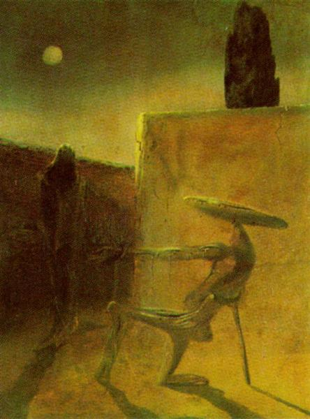 The Ghost of Vermeer Van Delft - Dali Salvador