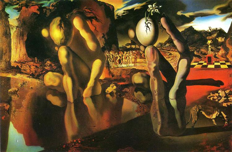 The Metamorphosis of Narcissus, 1937 - Salvador Dali