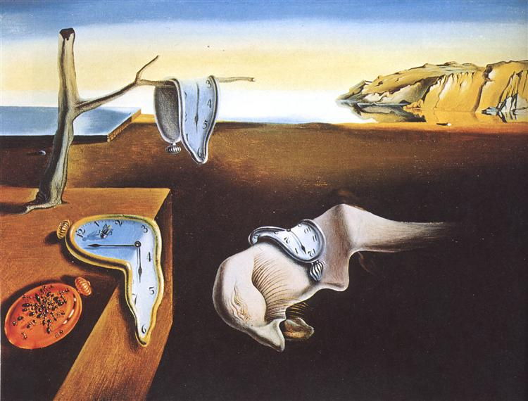 The Persistence of Memory, 1931 - Salvador Dalí
