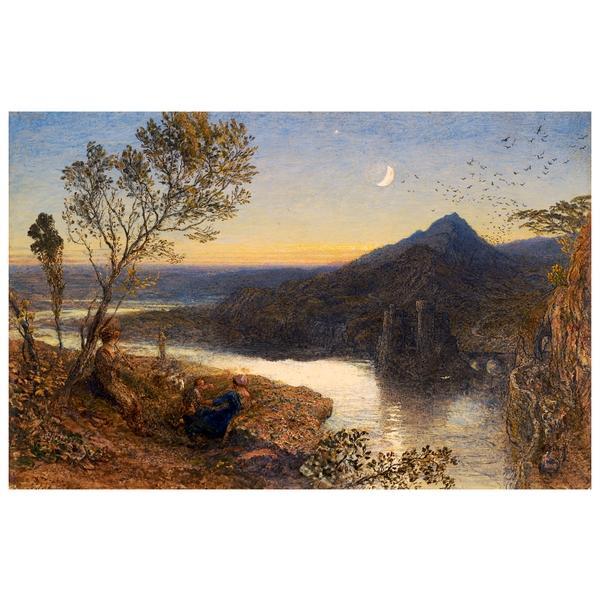Classical River Scene - Samuel Palmer
