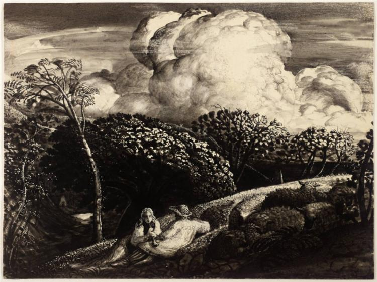 The Bright Cloud - Samuel Palmer