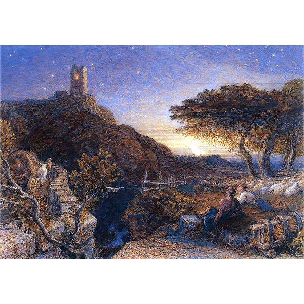 The Lonely Tower, 1861 - Samuel Palmer
