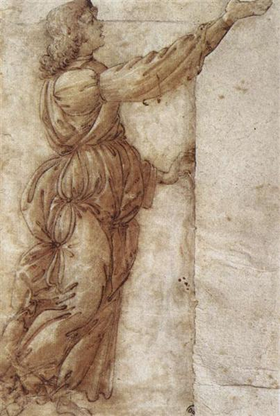 Angel, c.1490 - Sandro Botticelli