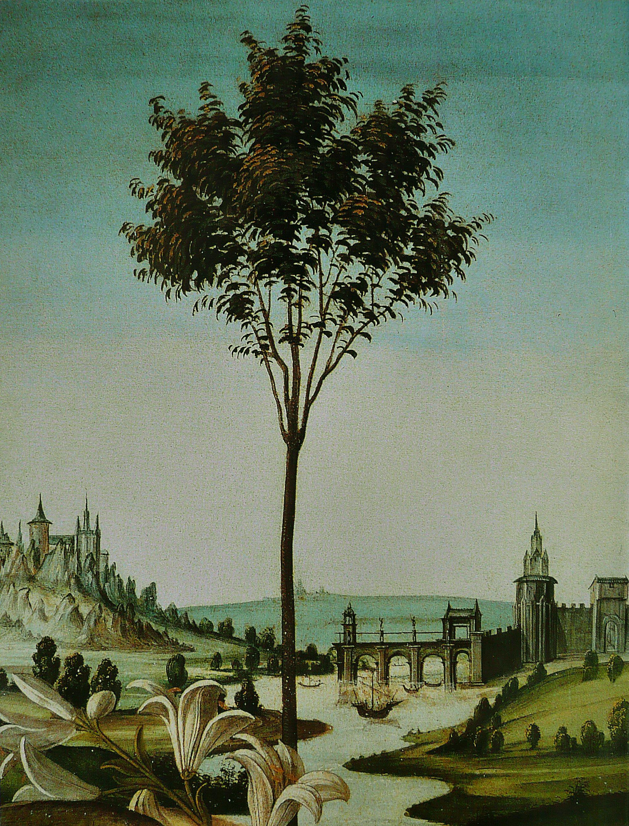 détail de l'Annonciation du Cestello