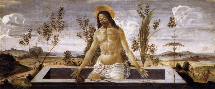 Christ in the Sepulchre, c.1488 - Sandro Botticelli