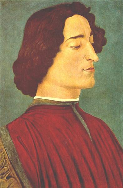 Giuliano de Medici, 1478 - Sandro Botticelli