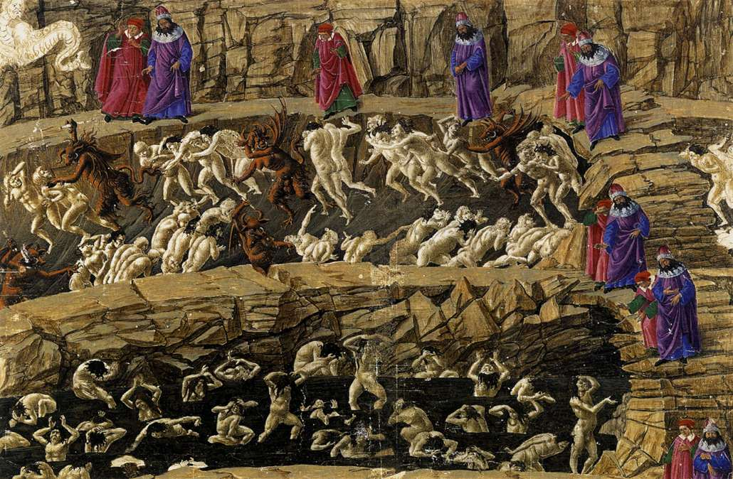 identify the political and religious issues dante faces in inferno 19 An analysis of dantes inferno english literature essay up to their faces in antenora, traitors to political entities dante's inferno heralded a.