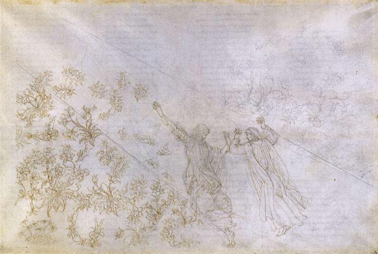 Paradise, Canto XXX, 1490 - Sandro Botticelli