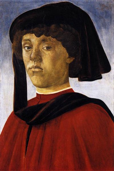 Portrait of a Young Man, c.1469 - Sandro Botticelli