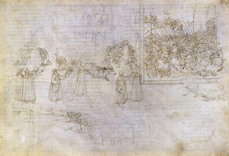 Purgatory, 1490 - Sandro Botticelli
