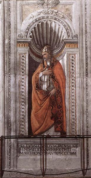 Sixtus II, 1481 - Sandro Botticelli