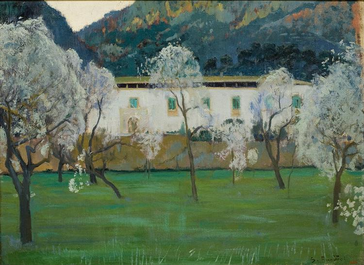 White Farmhouse (Bunyola, Majorca), 1902 - Santiago Rusinol