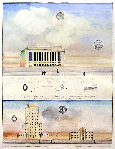 Federal Projects, 1981 - Saul Steinberg