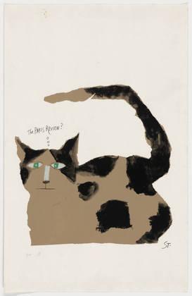 The Paris Review?, 1967 - Saul Steinberg