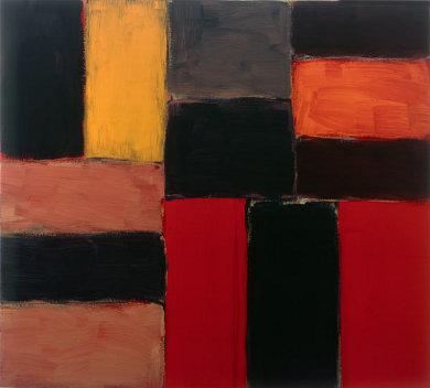 Raval Rojo, 2004 - Sean Scully