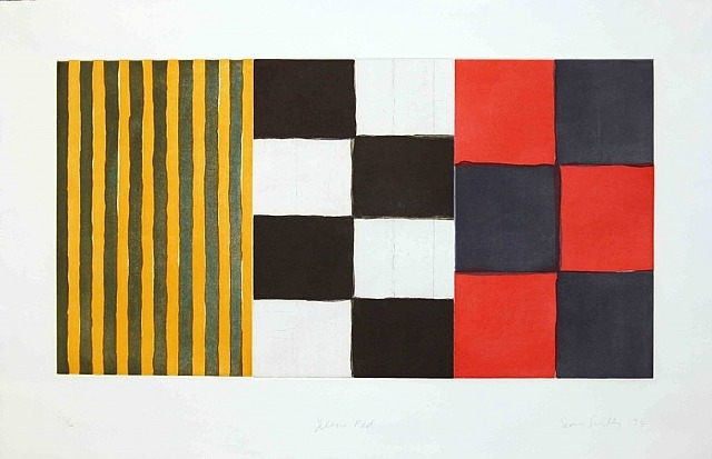Yellow Red, 1994 - Sean Scully