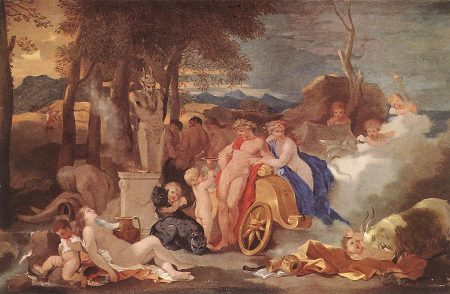 Bacchus and Ceres with Nymphs and Satyrs, 1640