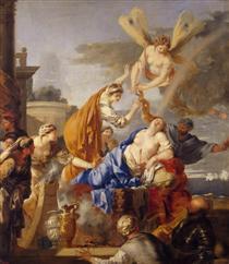 Death of Dido - Sébastien Bourdon