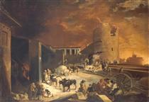 Ein Römischer Kalkofen - Sébastien Bourdon