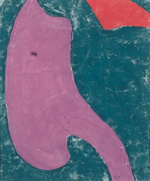 Etude de tissu, 1946 - Serge Poliakoff
