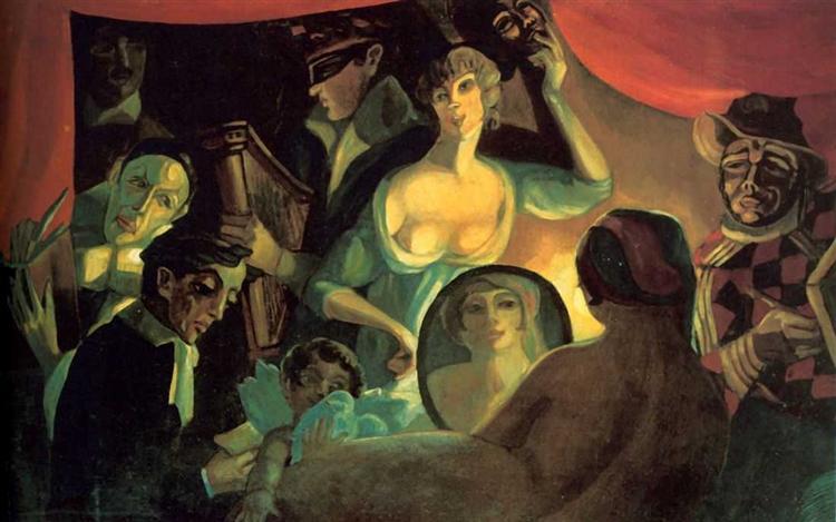 Кабаре «Привал комедиантов» («Моя жизнь»), 1915 - Сергей Судейкин