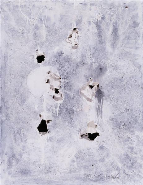 Holes, 1954 - 嶋本昭三